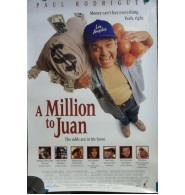 A Million to Juan Unsigned Single Sided 27x40 Original Movie Poster