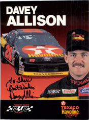 Allison, Davey Signed 8x10 Promo (P