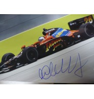 Andretti, Marco Signed 12x18 Photo.