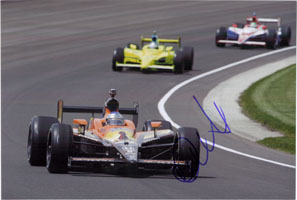 Andretti, Marco Signed 8x12 Photo (Can be cut down to make an 8x10)