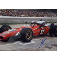 Andretti, Mario Signed 12x18 Photo