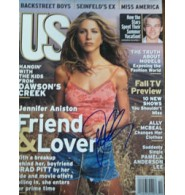 Aniston, Jennifer Signed US Weekly Magazine 10/1998