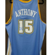 Anthony, Carmelo (Denver Nuggets) Signed Denver Nuggets Swingman Jersey