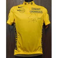 Armstrong, Lance Lance Armstrong Signed Yellow Cycling Jersey. (PSA Authenticated)