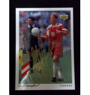 Aunger, Geoff Signed 1994 WorldCup Card