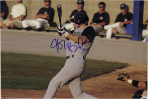 Baisley, Jeff Signed 8x12 Photo (Can be cut down to make an 8x10)