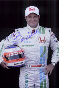 Barrichello, Rubens Signed 8x12 Photo (Can be cut down to make an 8x10)