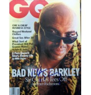 Barkley, Charles Signed GQ Magazine (Dated: November)