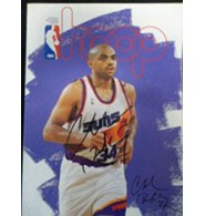 Barkley, Charles Signed NBA Hoop Magazine