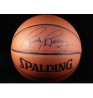 Barry, Rick Signed Indoor/Outdoor Basketball
