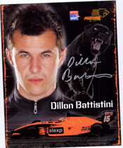 Battistini, Dillon Signed 8x10 (Promo)