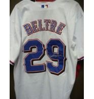 Beltre, Adrian (Texas Rangers) Signed Authentic Texas Rangers Jersey Size 52