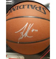 Bibby, Mike Signed Spalding Indoor/Outdoor Basketball