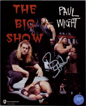 Big Show Signed 8x10 Photo.