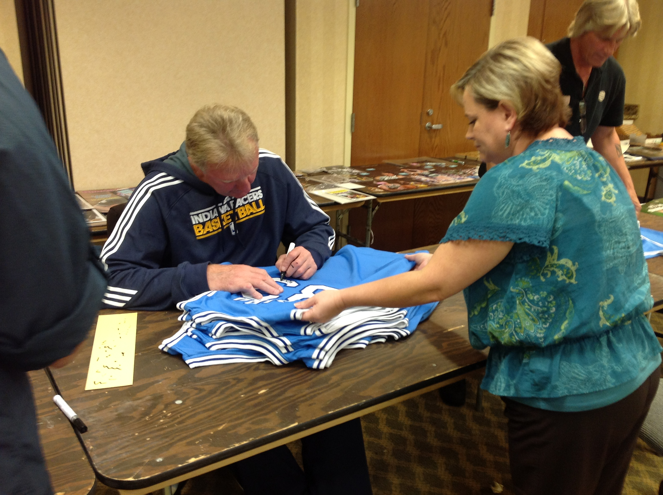 separation shoes 46fdb 6d355 Larry Bird Autographed Indiana State Jersey from Powers ...