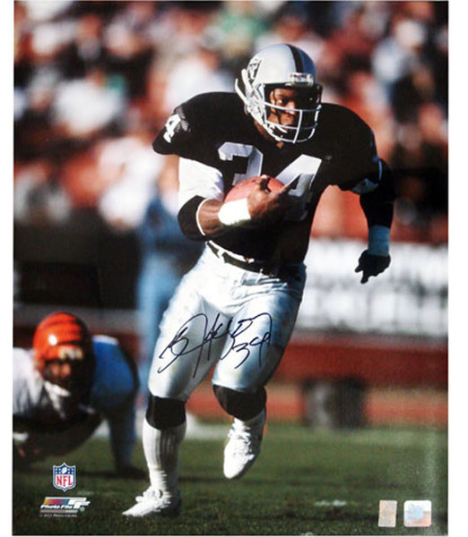 buy online 914a4 dd954 Bo Jackson Autographed Raiders Photo from Powers Autographs
