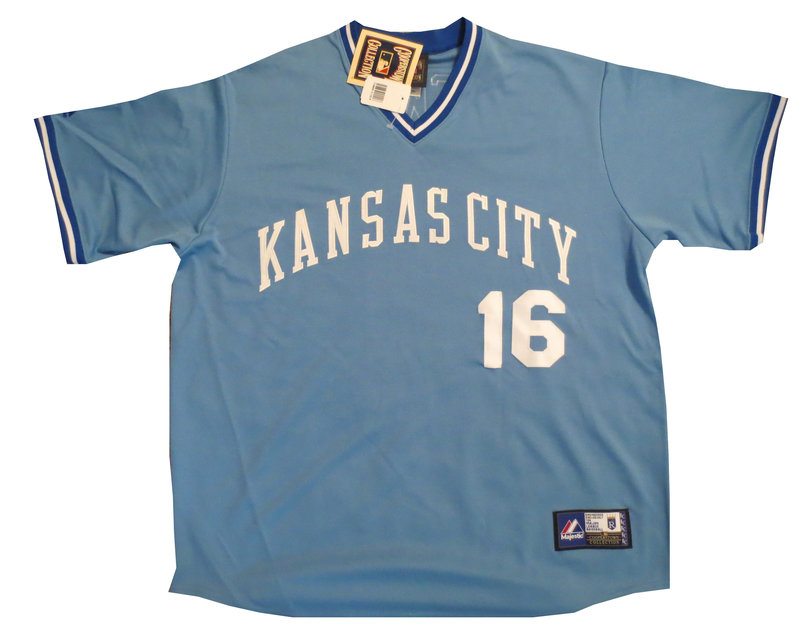 Bo Jackson Autographed Royals Signed Jersey from Powers Autographs