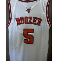 Boozer, Carlos (Chicago Bulls) Signed Authentic Chicago Bulls Jersey