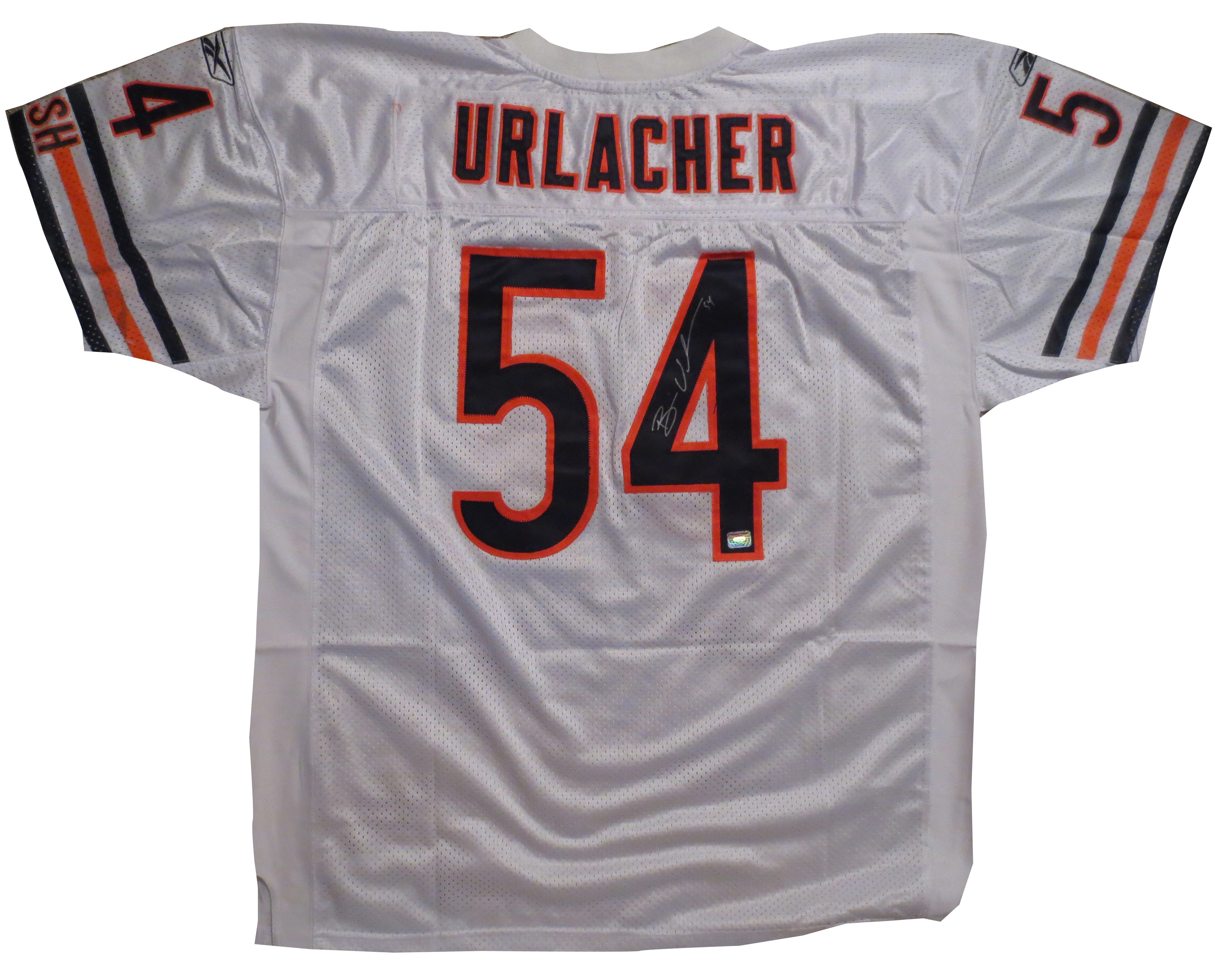 official photos ec421 7a8fd Brian Urlacher Autographed Bears Jersey from Powers Autographs