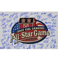 Cal League All-Star (2007) Signed 12x18 Photo by the 2007 Call League All Star Participants. Signed by the Both Full rosters of the North and South Team.