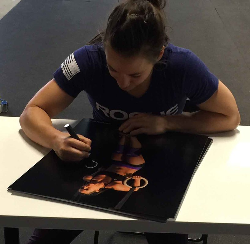 Camille Leblanc-Bazinet Signed Crossfit 16x20 Photo from Powers Autographs