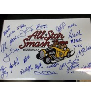 Carolina League All-Stars (2011) Signed 12x18 Photo by the All-Stars of the Carolina League in 2011. 25 signatures in all.