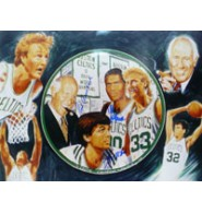 Celtics, Boston (Red Auerbach/Robert Parish/Kevin McHale) Signed 16x20 by Red Auerbach, Robert Parish, & Kevin McHale