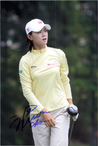 Choi, Na Yeon Signed 8x12 Photo (Can be cut down to make an 8x10)