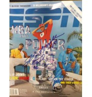 Clippers, Los Angeles (Andre Miller / Quentin Richardson / Elton Signed ESPN Magazine by Elton Brand, Andre Miller, & Quentin Richardson (Dated 11/11/02)