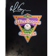 Cooper, Alice Signed 1997 Celebrity Shooting Stars Golf Program