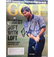 Couples, Fred Signed Golf Magazine Dated 8/1994.