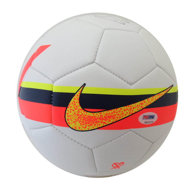 43a028d77ee Cristiano Ronaldo Autographed Soccer Ball from Powers Autographs