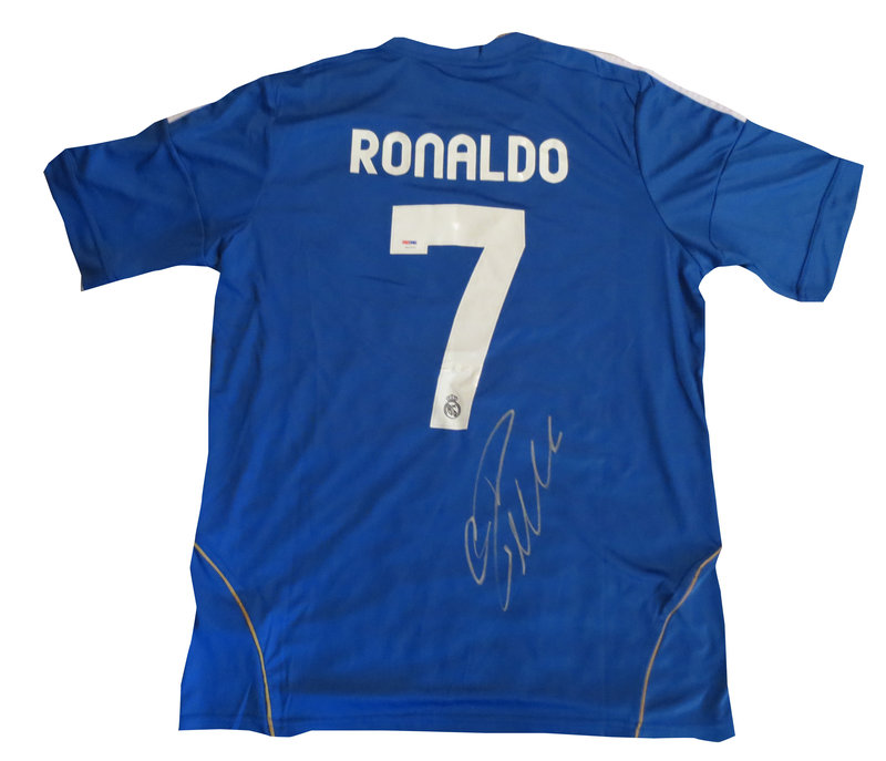 pretty nice 2c901 50c59 Cristiano Ronaldo Autographed Real Madrid Jersey from Powers ...