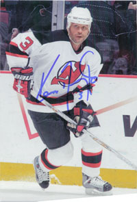 Daneyko, Ken (New Jersey Devils) Signed 4x6 Alumni Associated Postcard