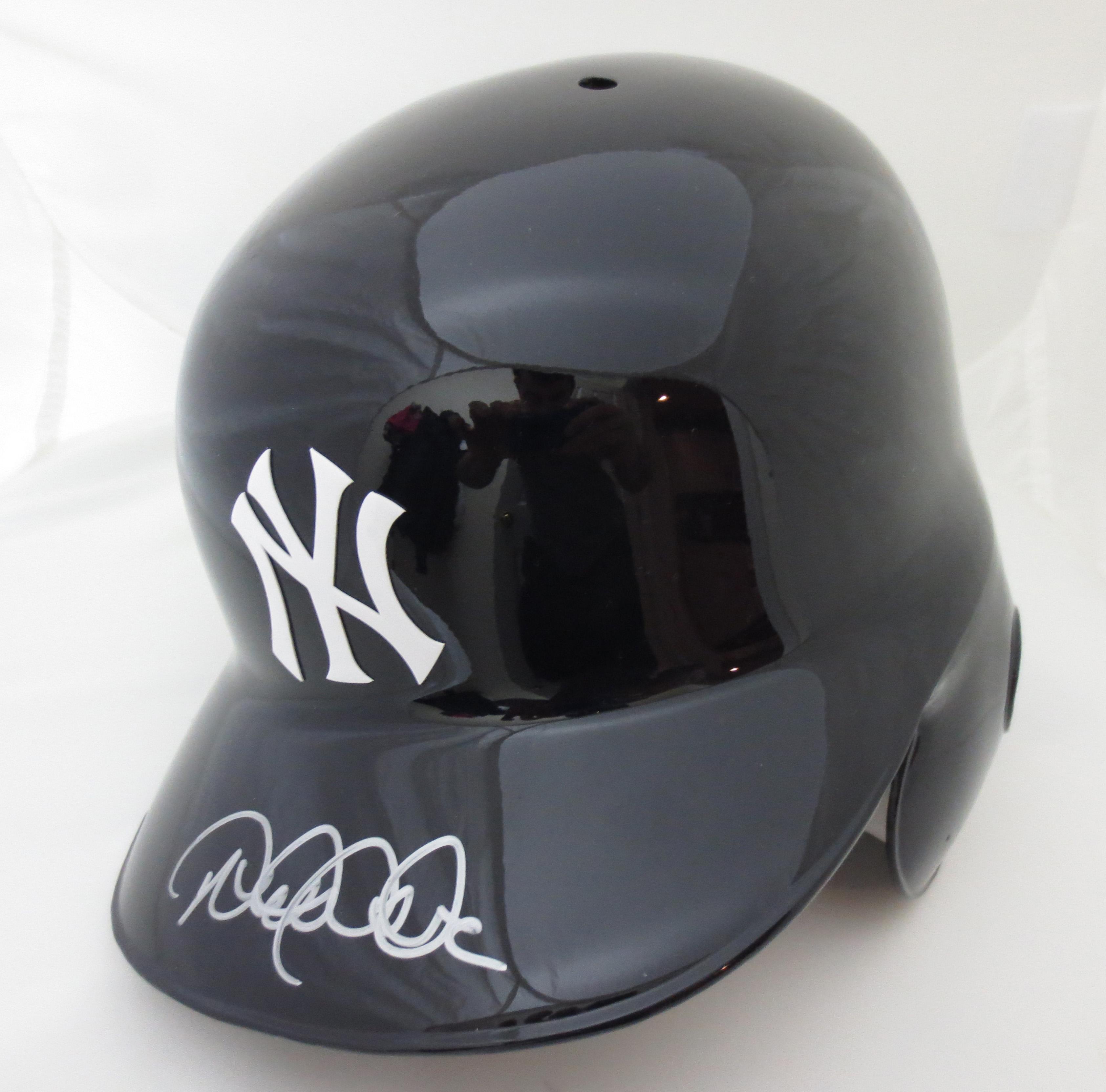 Derek Jeter Autographed Yankees Batting Helmet from Powers ...