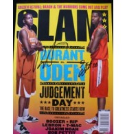 Durant, Kevin / Oden, Greg Signed Slam Magazine By Greg Oden and Kevin Durant