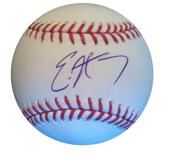 Eric Hosmer Signed Baseball from Powers Autographs
