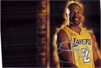 Fisher, Derek (Los Angeles Lakers) Signed 8x12 Photo (Can Be Cut Down to 8x10)