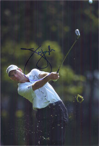 Furyk, Jim Signed 8x12 Photo (Can be cut down to make an 8x10)