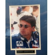 Goodyear, Scott Signed 8x10 Photo Matted and ready to be framed
