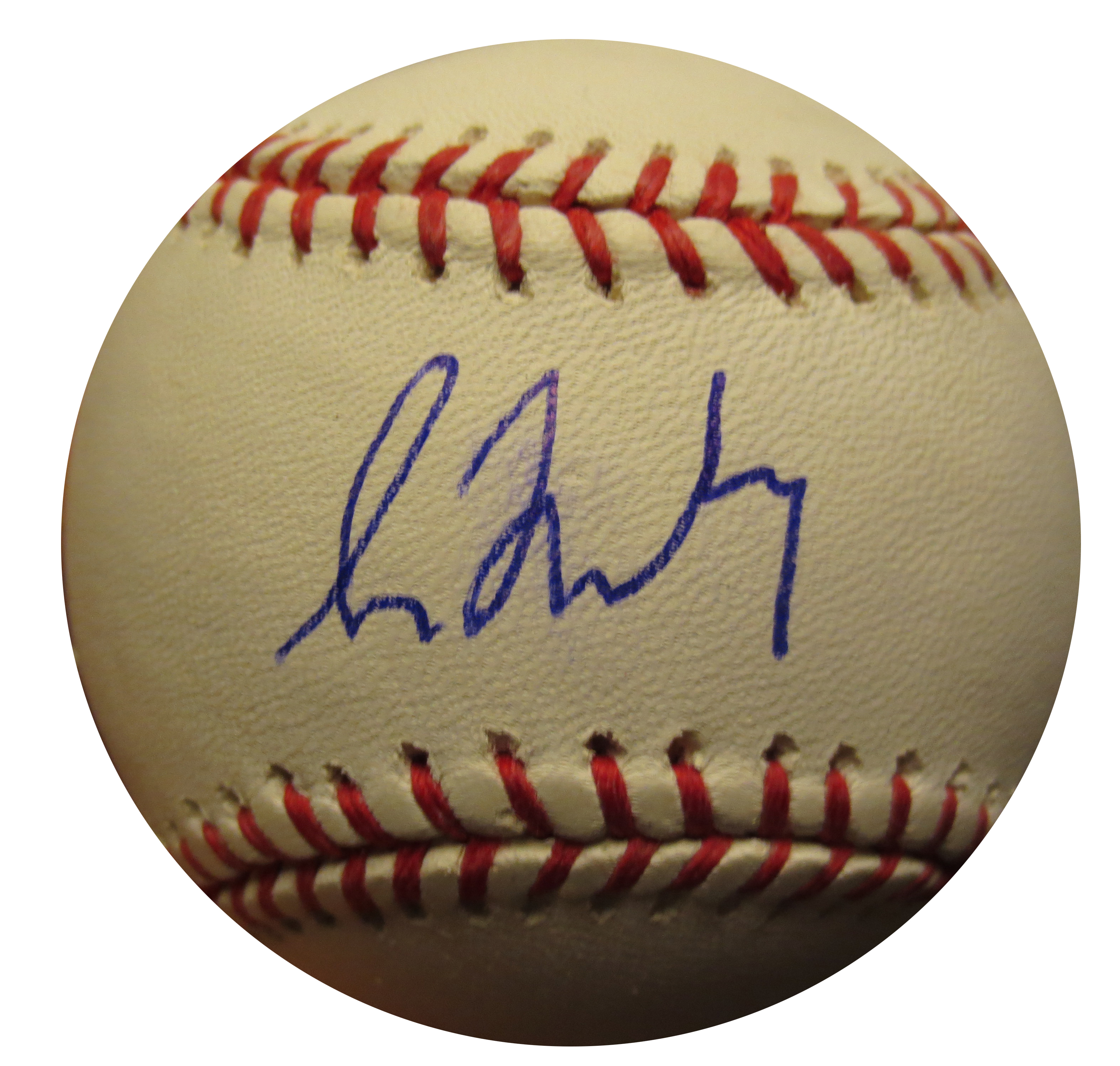 huge discount 0e1b1 448ee Greg Maddux Autographed MLB Signed Baseball Mounted Memories ...