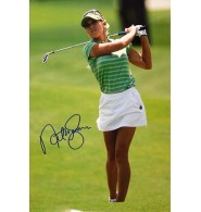 Gulbis, Natalie Signed 12x18 Photo.