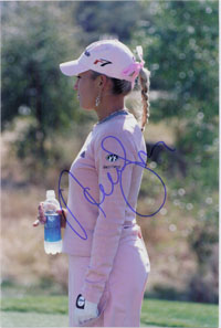 Gulbis, Natalie Signed 8x12 Photo (Can be cut down to make an 8x10)