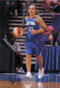 Hammon, Becky (New York Liberty) Signed 8x12 Photo (Can Be Cut Down to 8x10)
