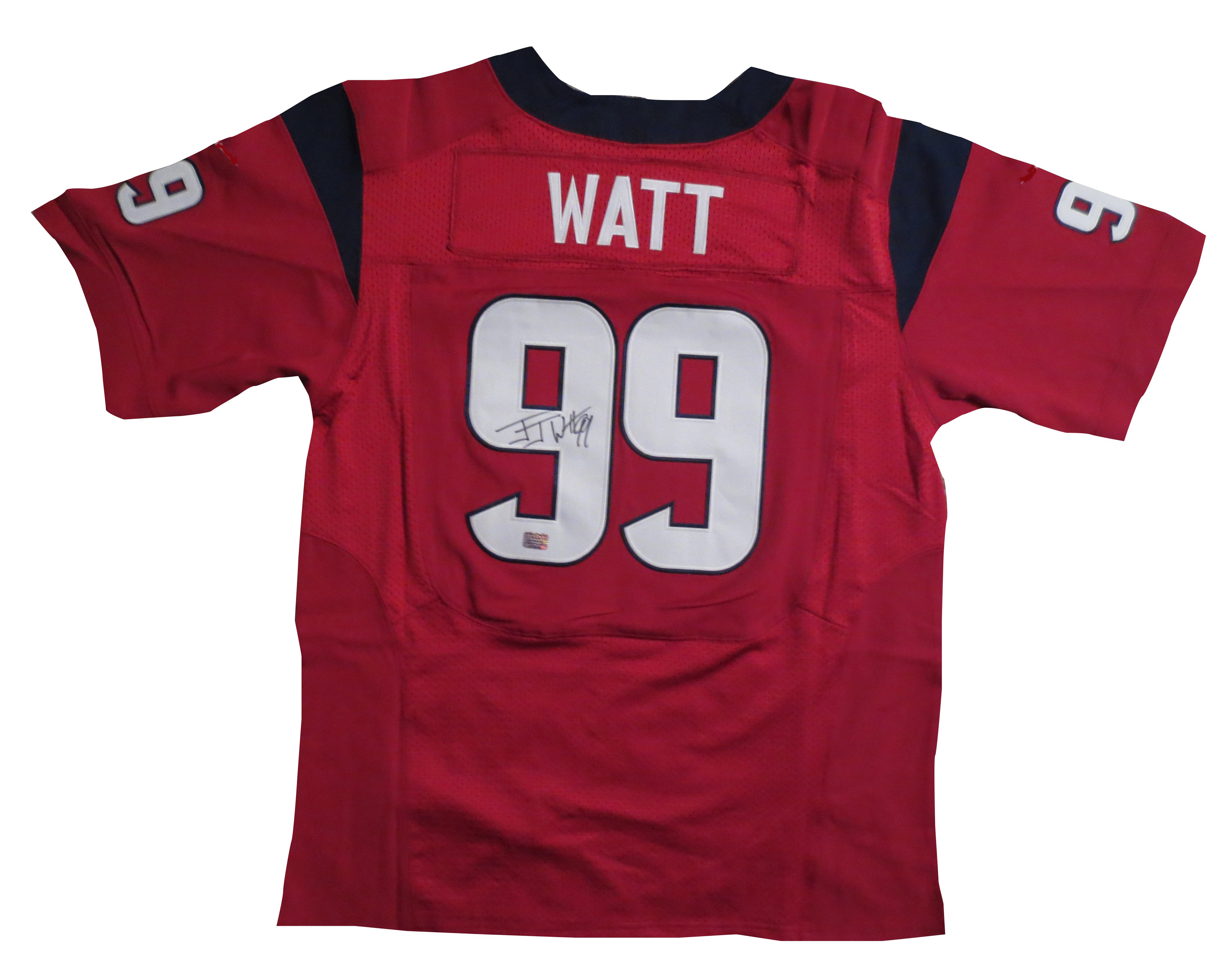 new product c7e26 67c6a JJ Watt Autographed Texans Jersey from Powers Autographs