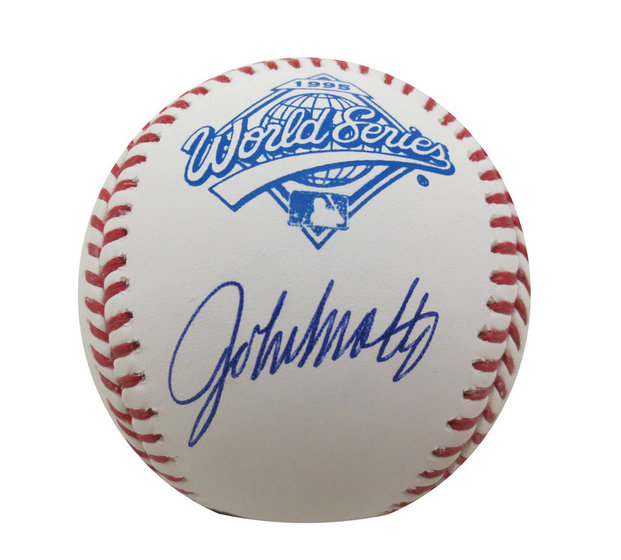 d810604176b John Smoltz Signed Baseball from Powers Autographs