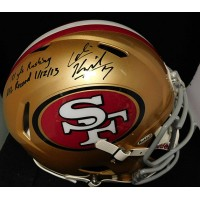 Kaepernick, Colin (San Francisco 49ers) Colin Kaepernick Signed Authentic Full Size Speed Helmet with inscription