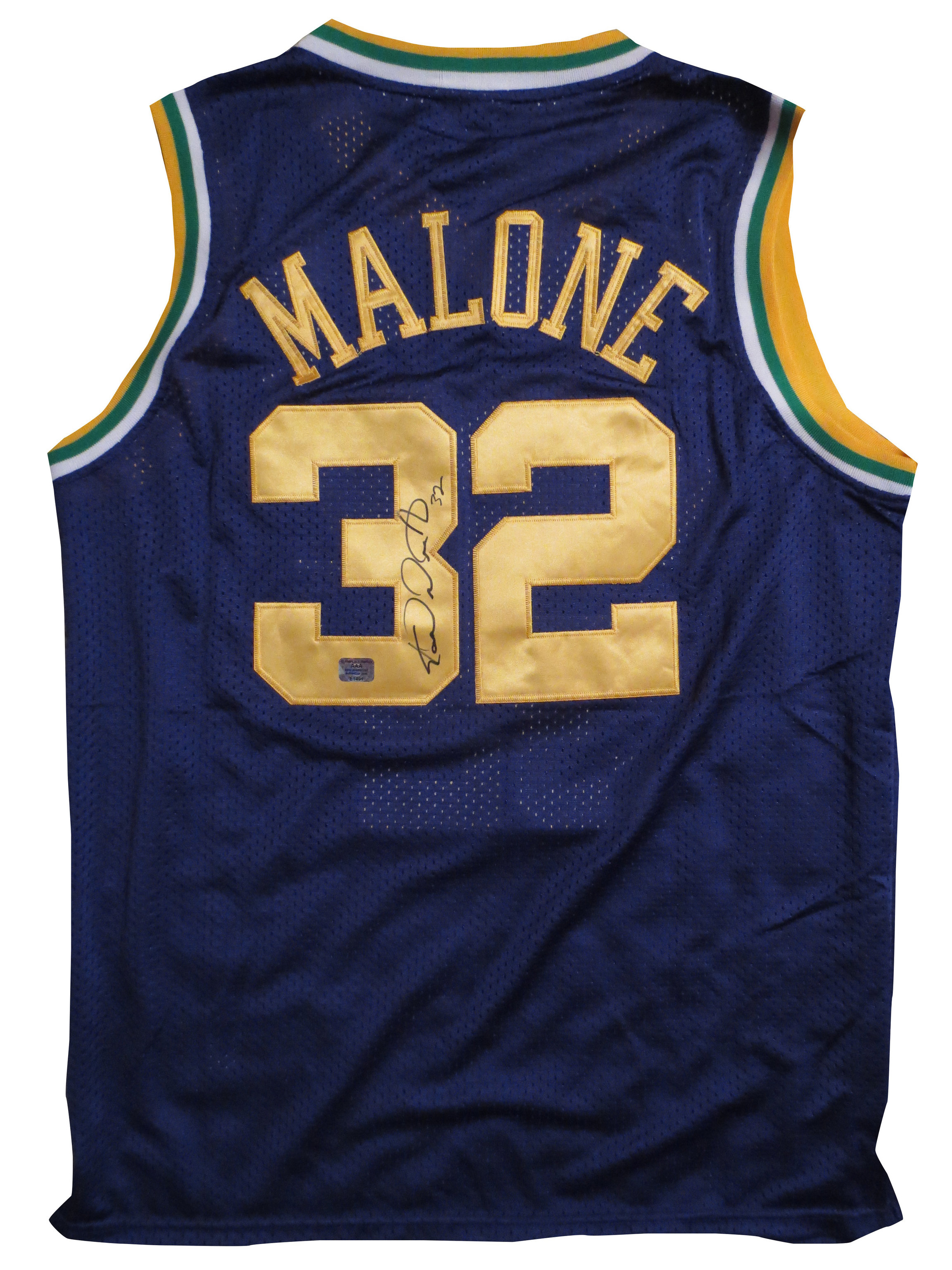 reputable site 85b1d 70ce0 Karl Malone Signed Jersey from Powers Autographs