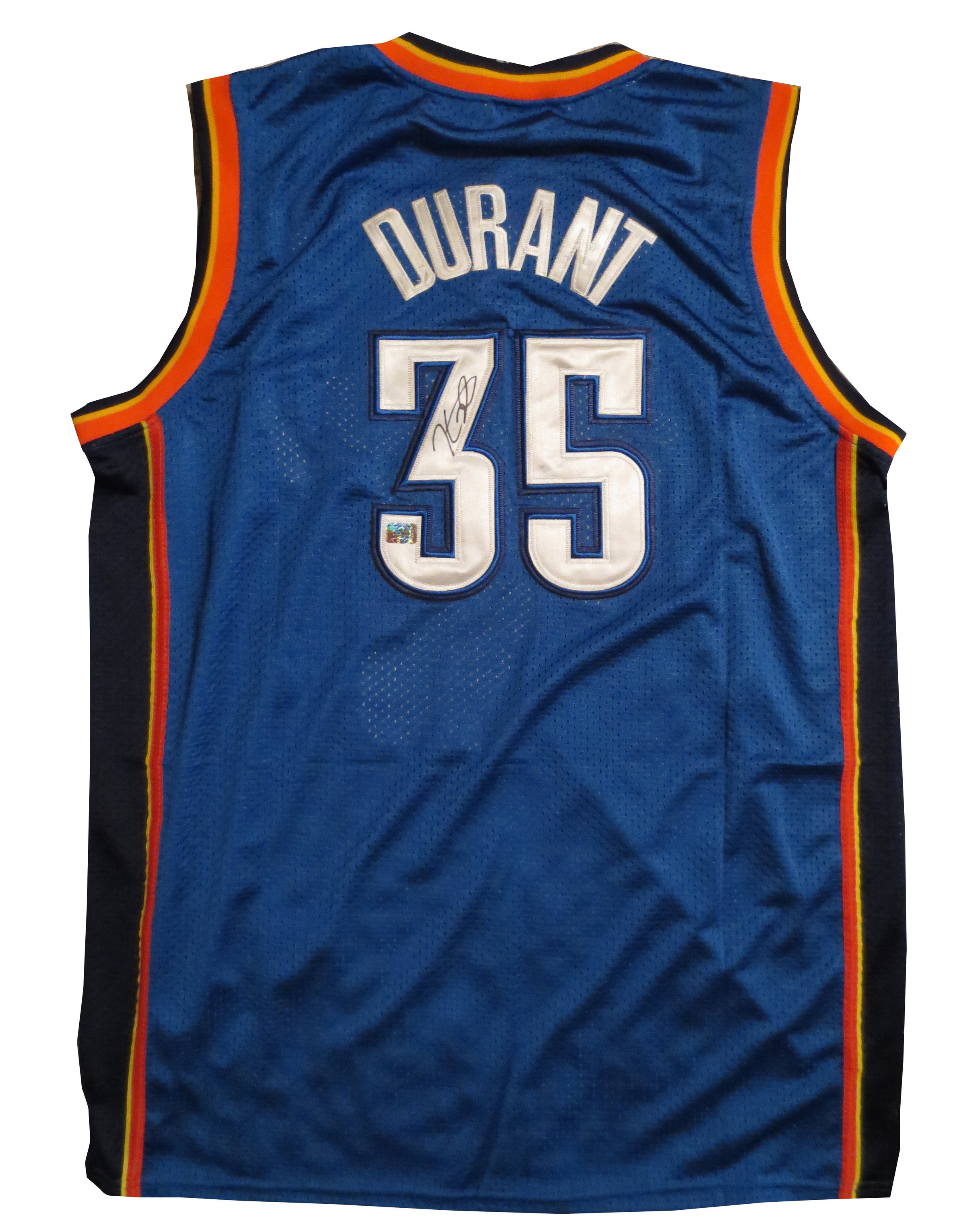 Kevin Durant Signed Jersey from Powers Autographs