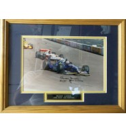 Lazier, Buddy Signed 8x12 Photo Matted and framed. ready to hang on your wall